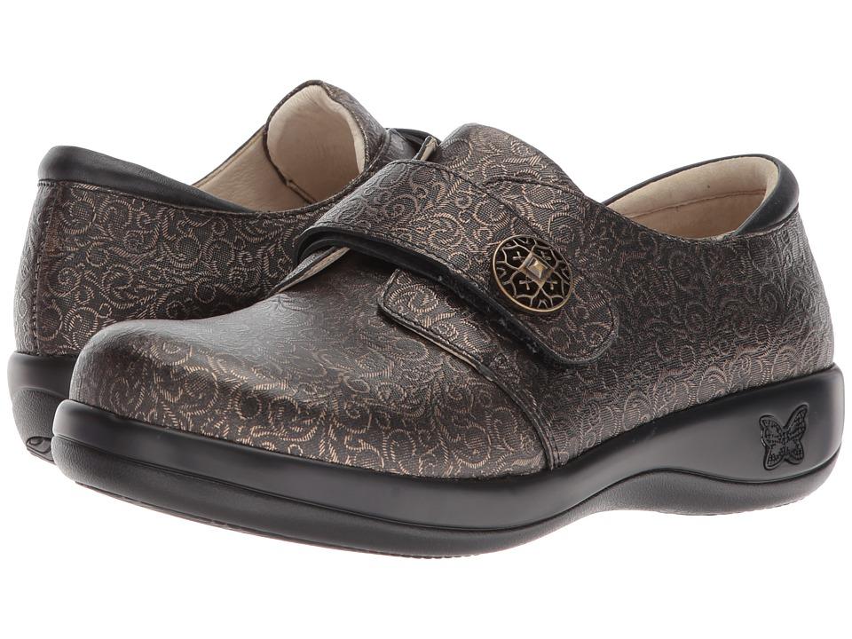 Alegria Joleen (Bronze Swirl) Slip-On Shoes