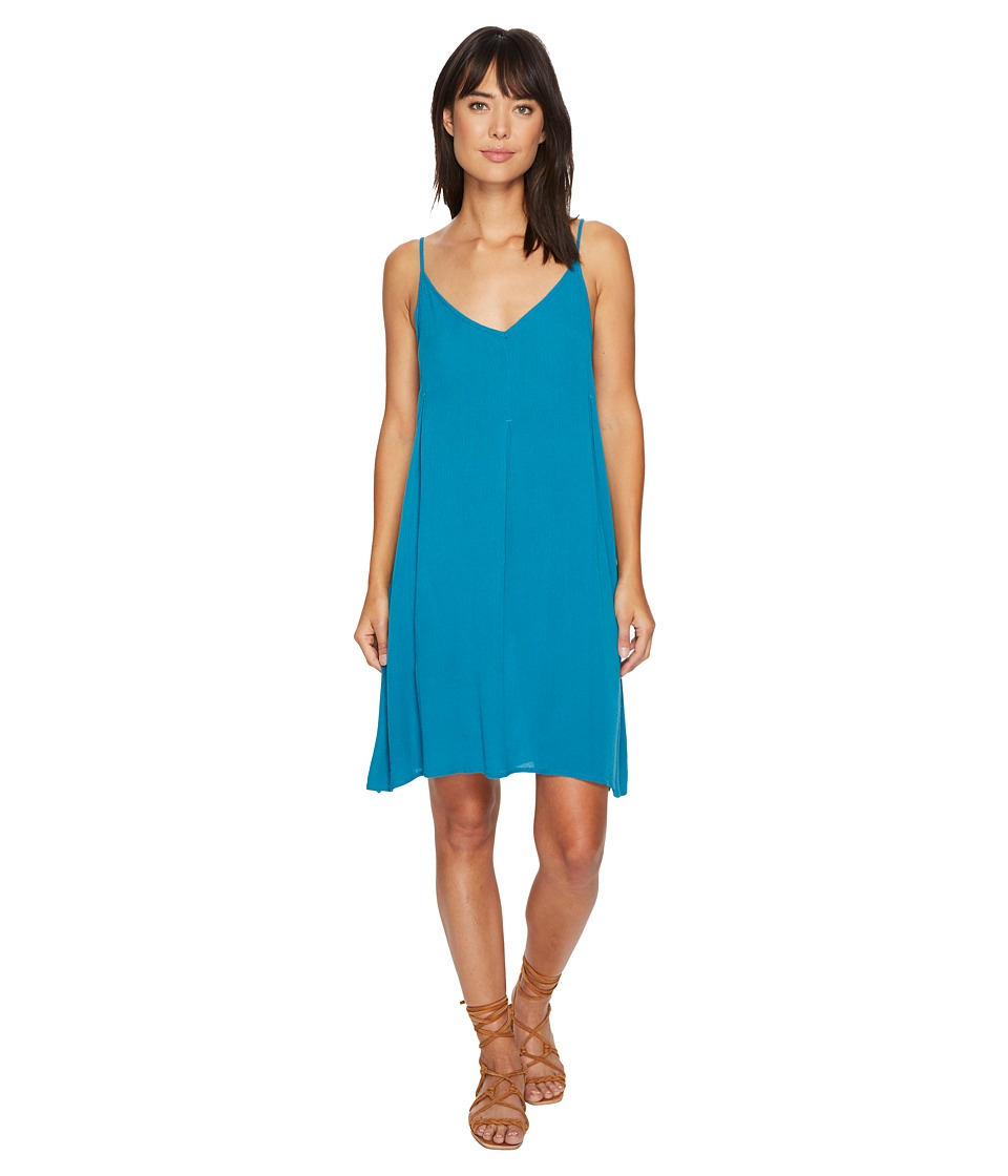 Roxy Swing Dress (Mosaic Blue) Women