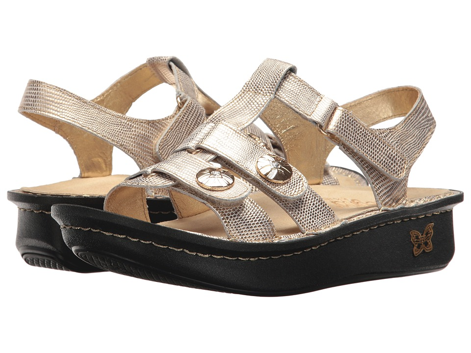 Alegria Kleo (Gold Your Own Way) Sandals