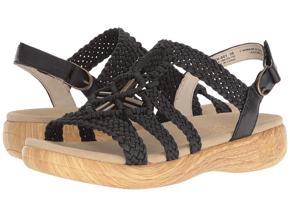 Alegria - Jena (Black) Womens  Shoes