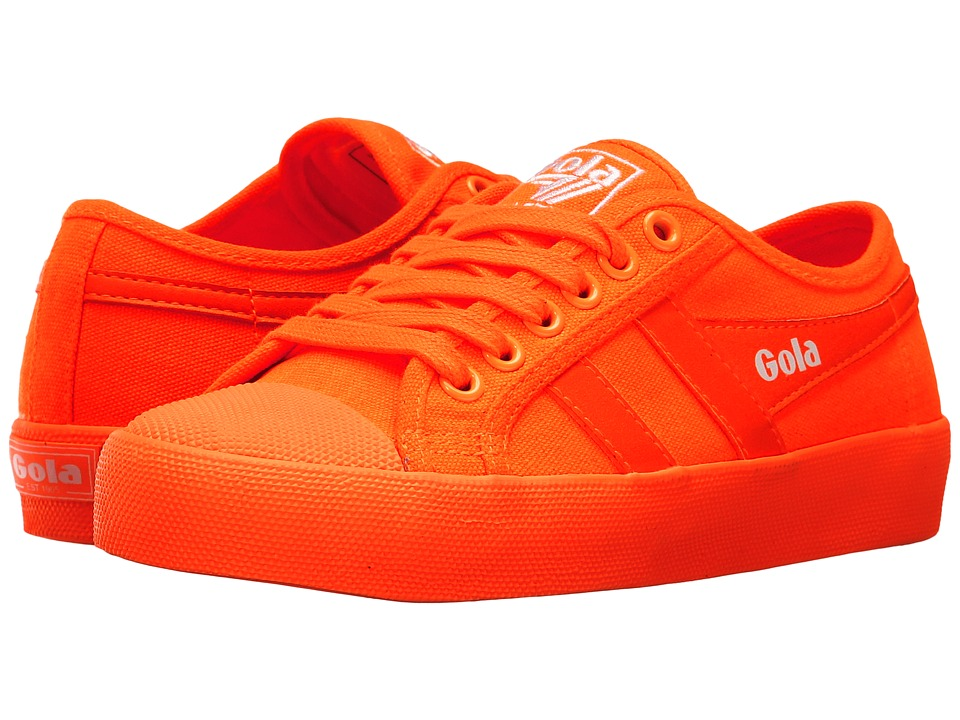 Gola Coaster Neon (Neon Orange/Neon Orange) Women