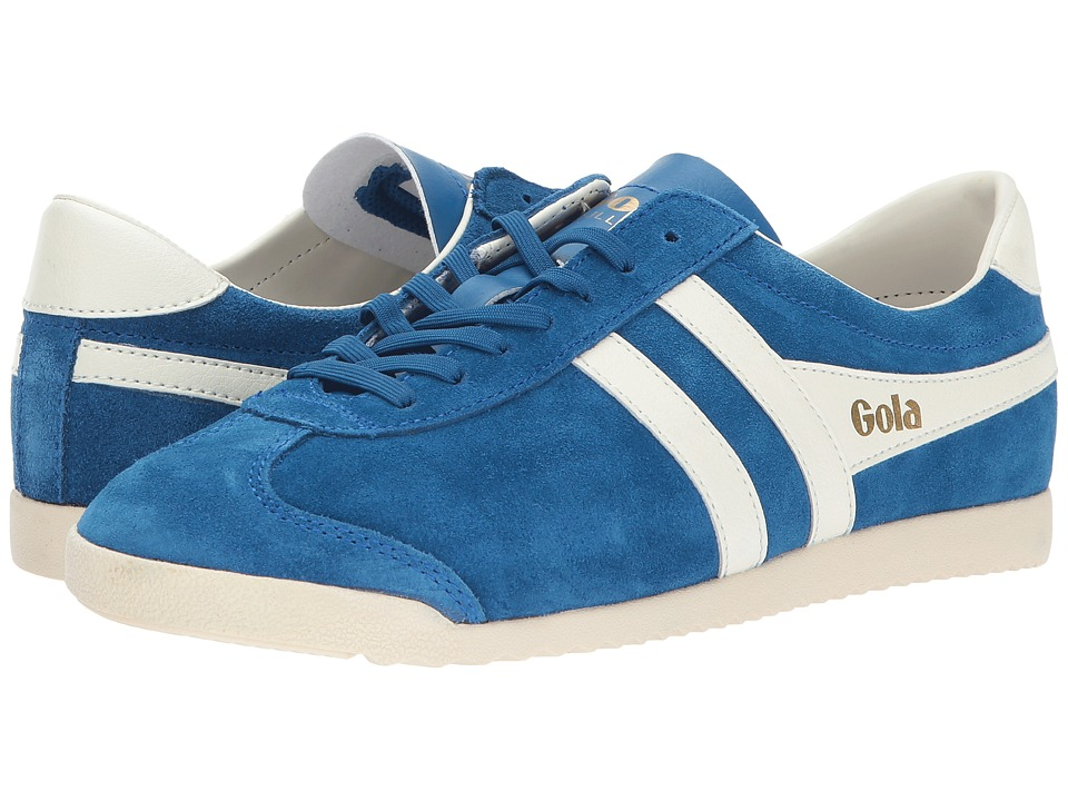 Gola Bullet Suede (Marine Blue/Off-White) Women
