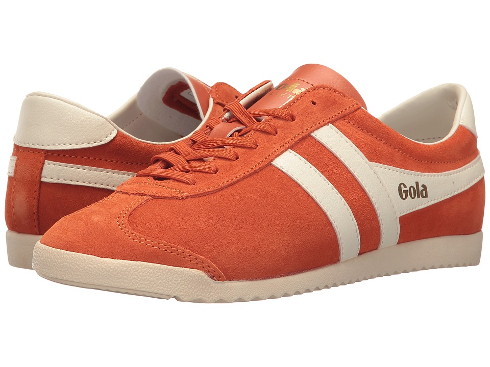 Gola Bullet Suede (Mandarin Orange/Off-White) Women