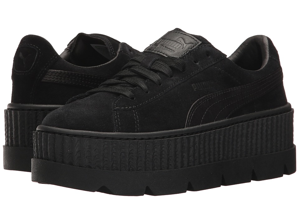 PUMA Cleated Creeper Suede (PUMA Black) Women