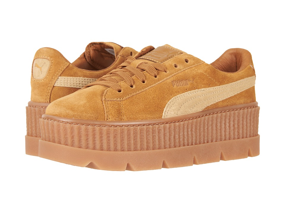 PUMA Cleated Creeper Suede (Golden Brown/Lark) Women