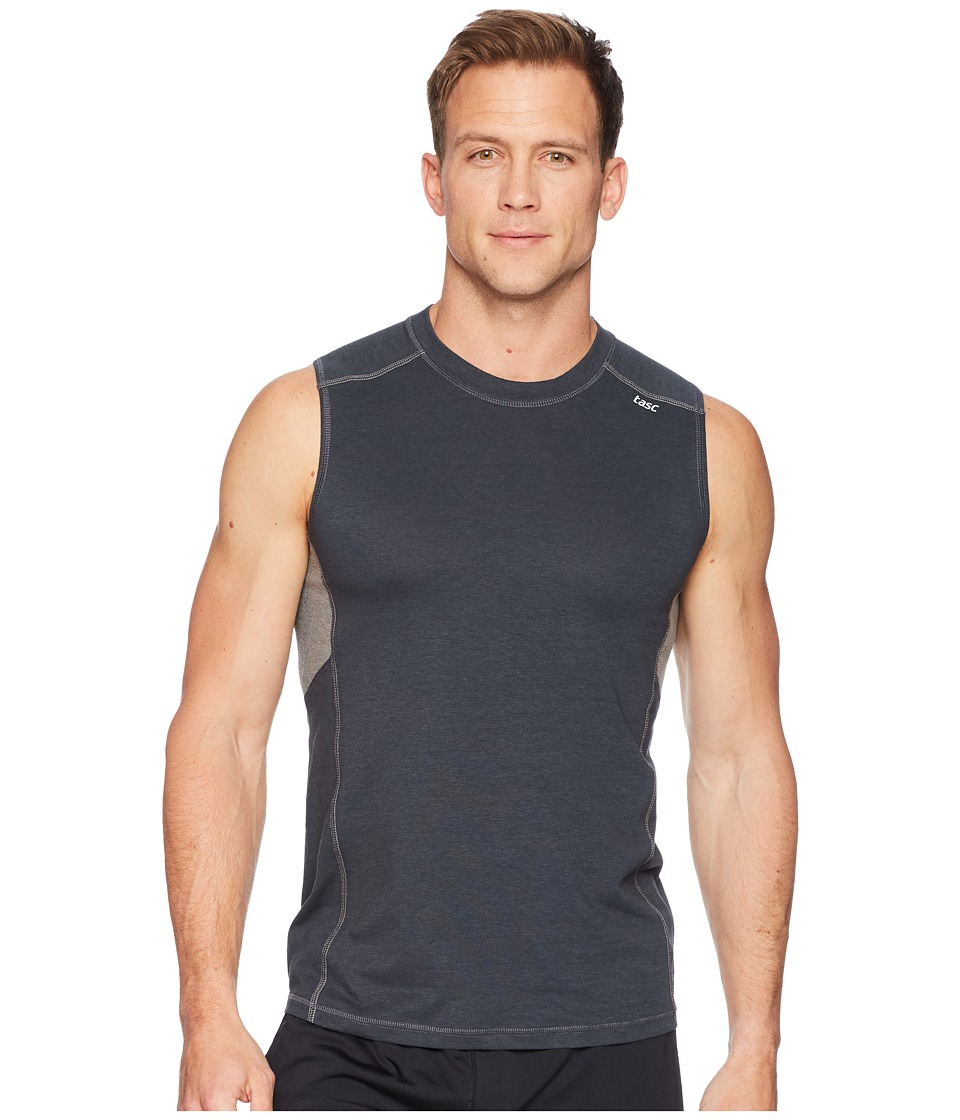 tasc Performance Charge II Tank Top (Gunmetal) Men