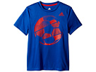 adidas Kids adidas Kids Hacked Sport Ball Tee (Big Kids)