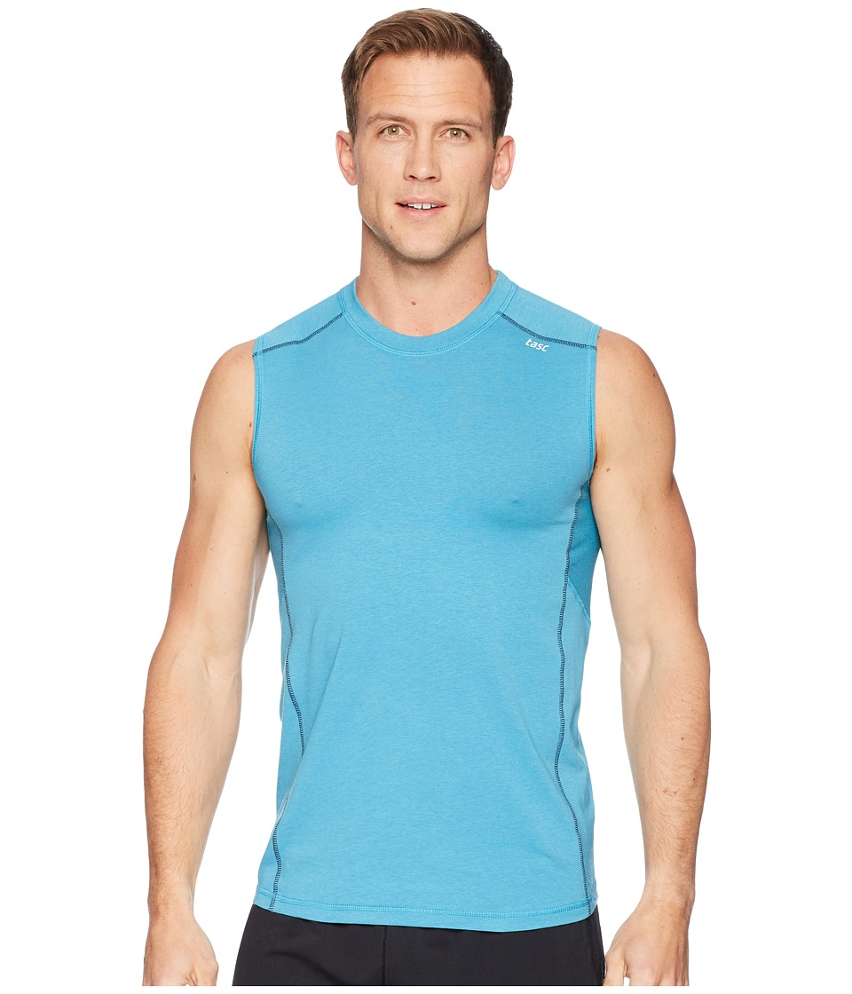 tasc Performance Charge II Tank Top (Barracuda) Men