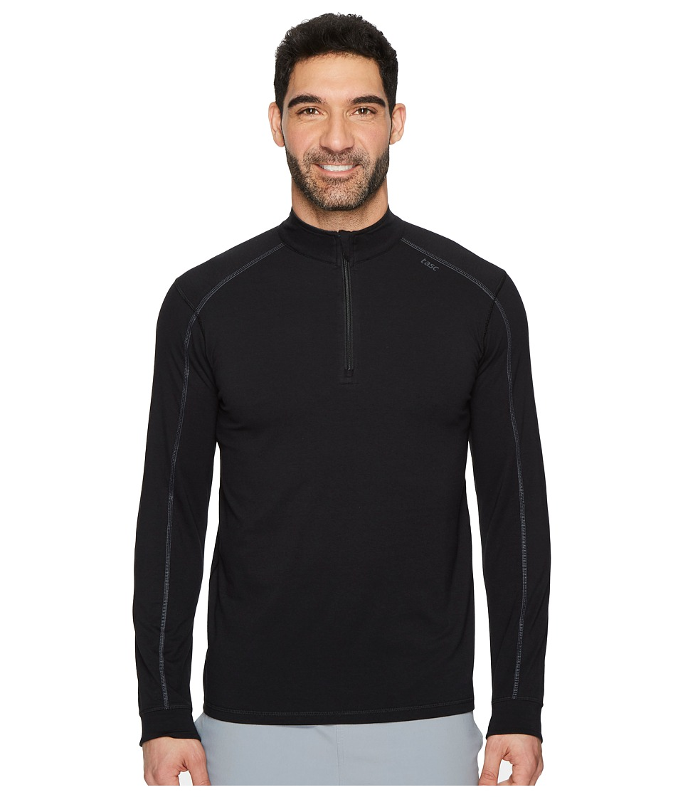 tasc Performance Carrollton 1/4 Zip (Black/Gunmetal) Men