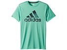 adidas Kids adidas Kids Pattern Fill Logo Tee (Big Kids)