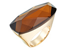 Robert Lee Morris Topaz and Gold Stone Ring