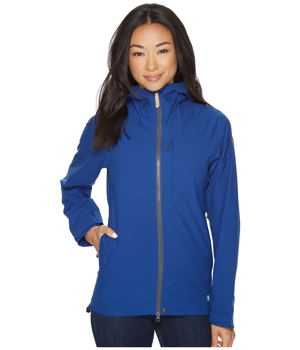 Fjallraven Abisko Eco-Shell Jacket (Deep Blue) Women