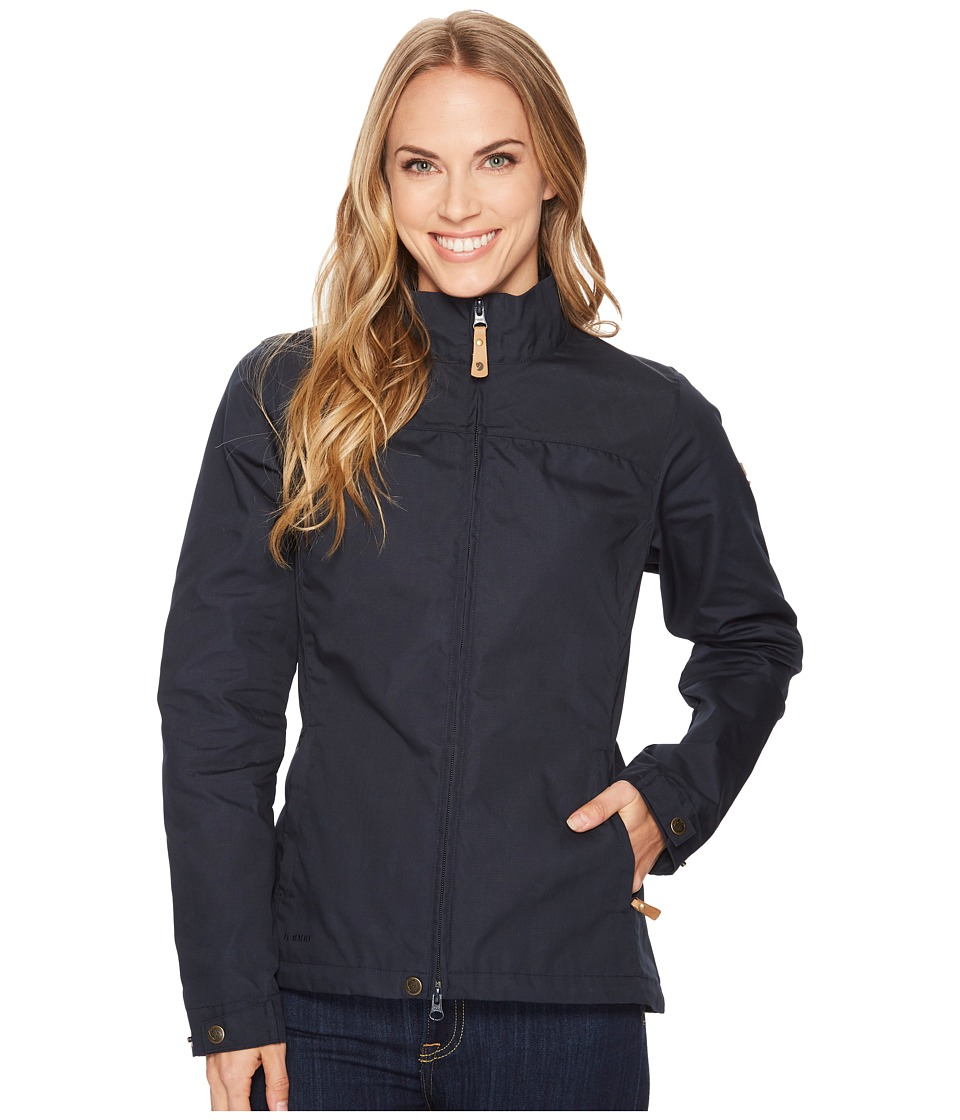 Fjallraven Kiruna Lite Jacket (Dark Navy) Women