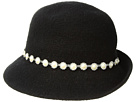 Collection XIIX Pearl Ruffle Band Cloche