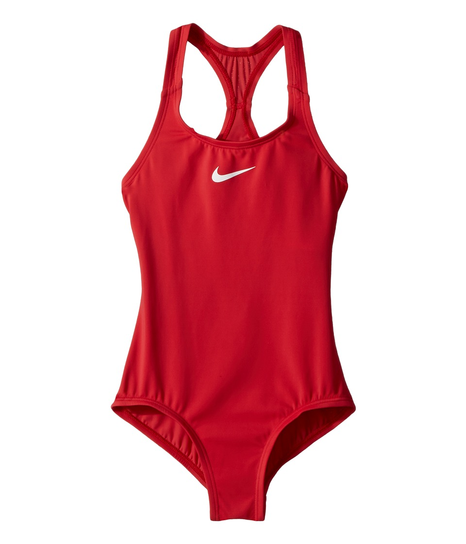 Nike Kids - Solid Racerback Sport One-Piece (Little Kids/...