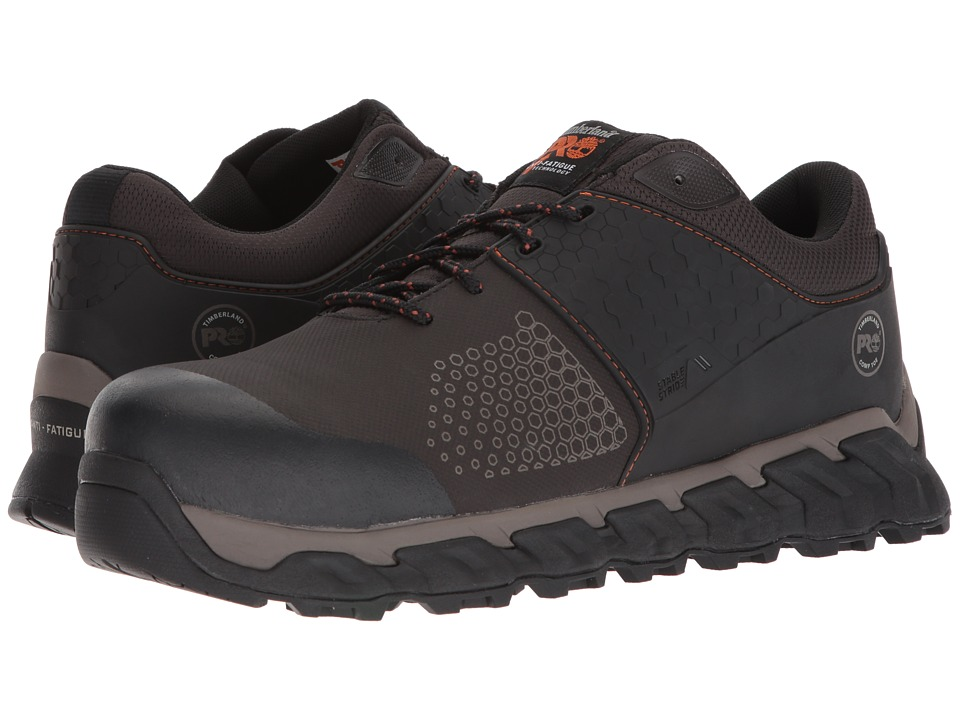 Timberland PRO - Ridgework Composite Safety Toe Low (Brown) Mens Work Lace-up Boots