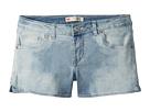 Levi's(r) Kids Best Coast Denim Shorty Shorts (Big Kids)