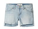 Levi's(r) Kids Altered Denim Shorty Shorts (Big Kids)
