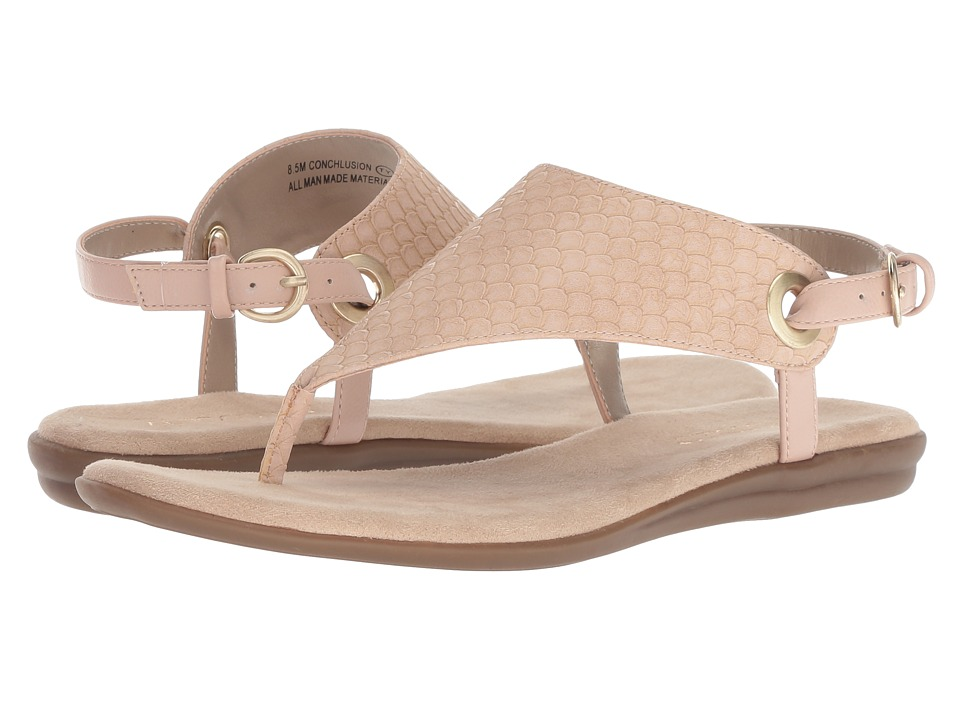 Aerosoles Conchlusion (Pink Snake) Sandals