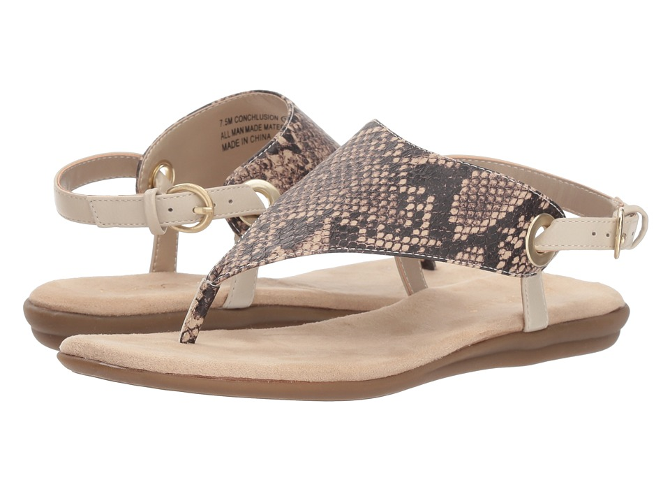 Aerosoles Conchlusion (Brown Exotic) Sandals