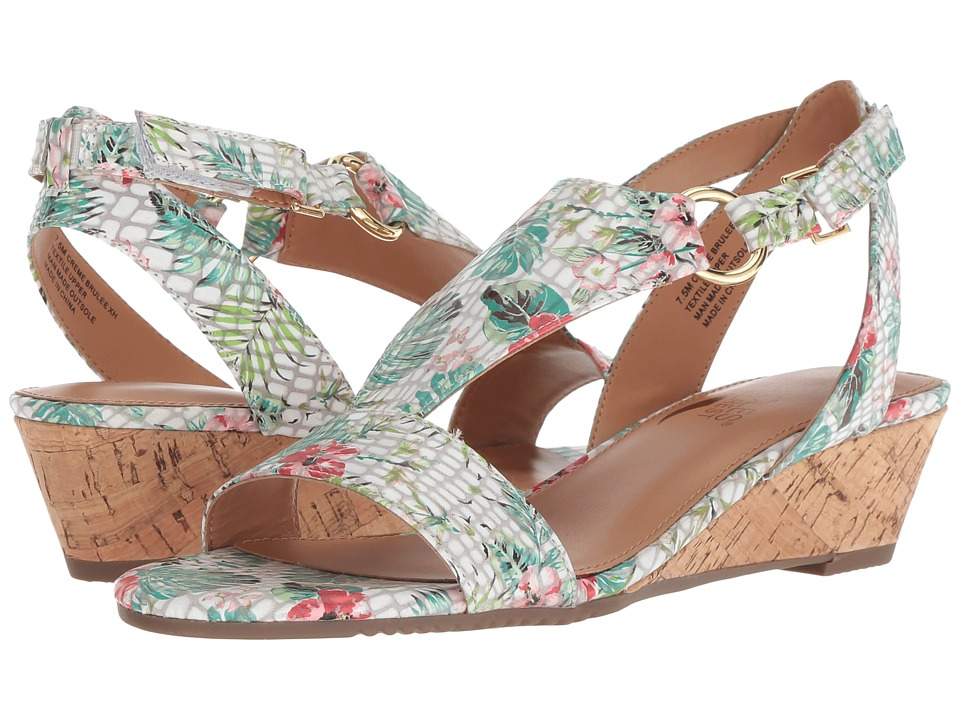 Aerosoles Creme Brulee (Floral Combo) Women's Shoes