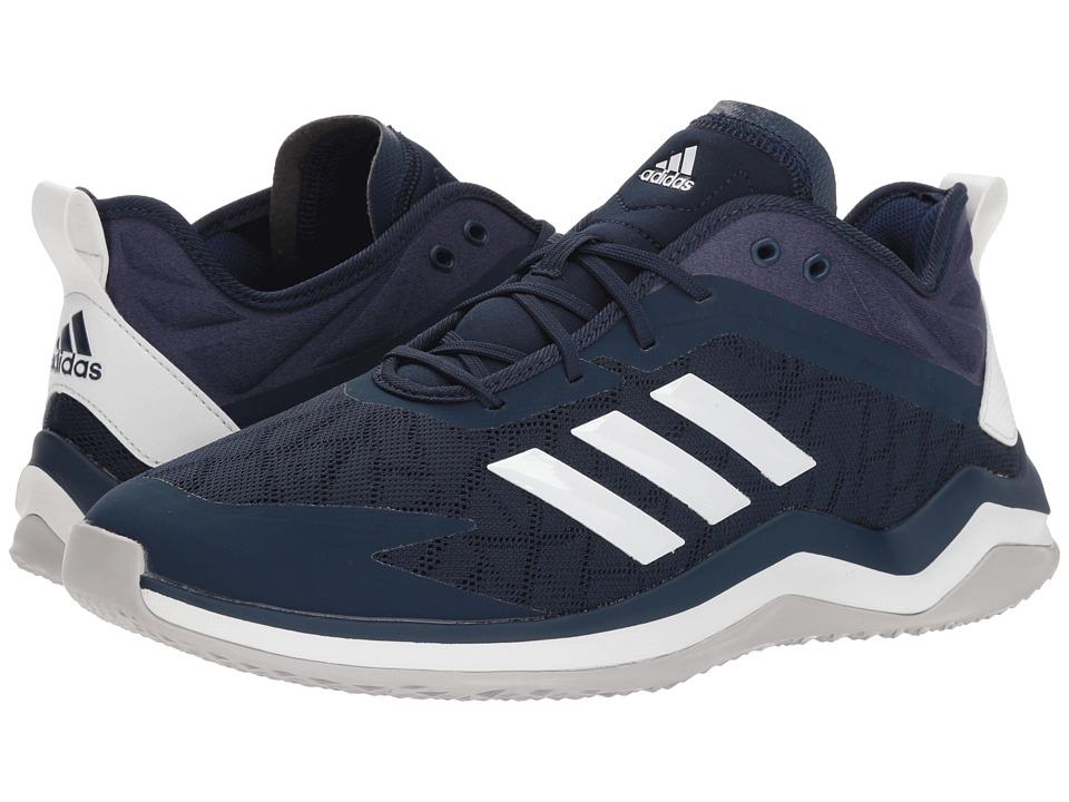 adidas - Speed Trainer 4 (Navy/Crystal White/Dark Blue) Mens Cross Training Shoes