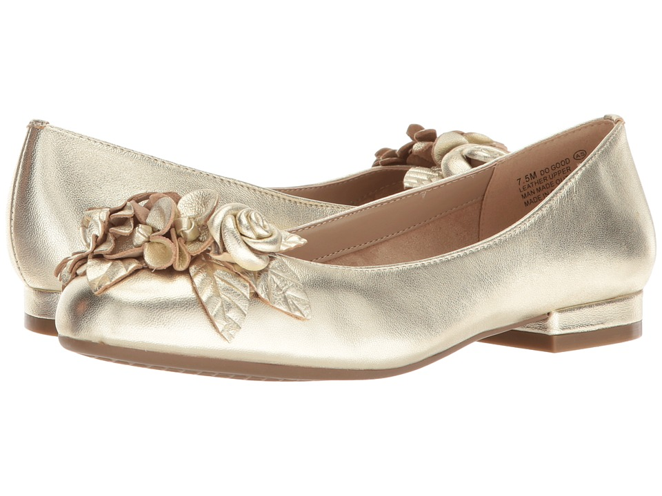 Aerosoles Do Good (Gold Leather) Women
