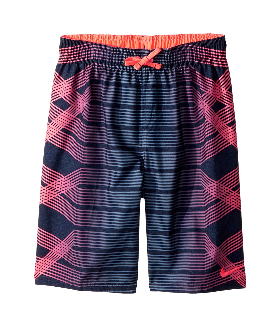 Nike Kids Breaker 8 Volley Short (Big Kids) (Hot Punch) Boy