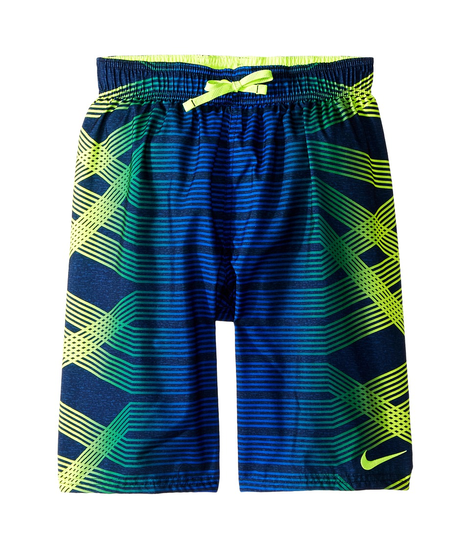 Nike Kids Breaker 8 Volley Short (Big Kids) (Volt) Boy