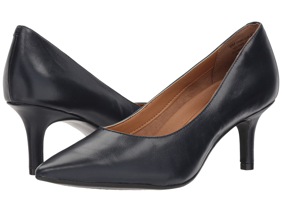 Aerosoles Drama Club (Navy Leather) High Heels