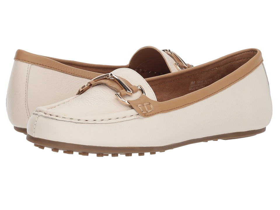 Aerosoles Drive Along (Bone Combo) Women's Shoes