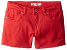 Levi's(r) Kids 710tm Super Skinny Fit Soft Brushed Shorty Shorts (Little Kids)