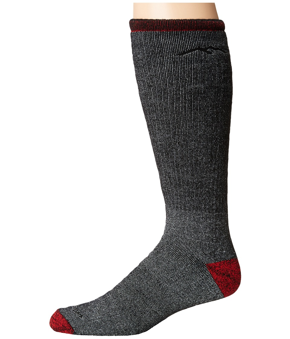 Darn Tough Vermont - Mountaineering Over the Calf Extra Cushion Socks (Smoke) Mens Knee High Socks Shoes