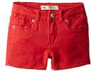 Levi's(r) Kids 710tm Super Skinny Fit Soft Brushed Shorty Shorts (Toddler)