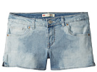 Levi's(r) Kids Best Coast Denim Shorty Shorts (Toddler)