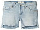 Levi's(r) Kids Altered Denim Shorty Shorts (Toddler)