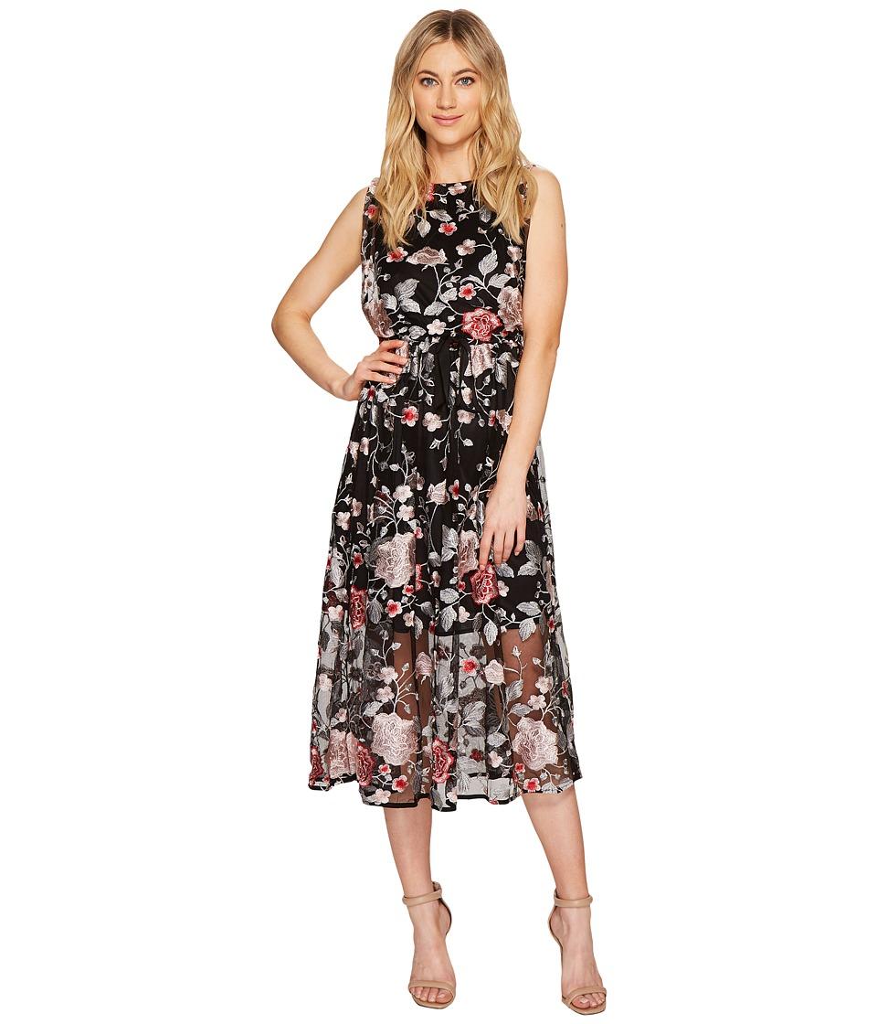 Eva by Eva Franco Carrington Dress (Black/Pink) Women