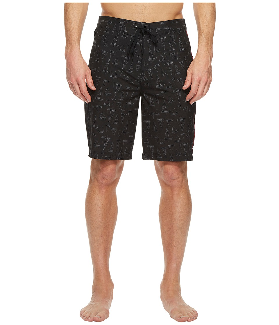 Hurley - Phantom JIF IV Maritime 20 Boardshorts (Black) Mens Swimwear