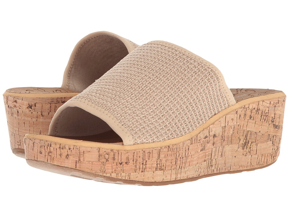 Rockport - Lanea Woven Slide (Latte Woven) Womens Slide Shoes