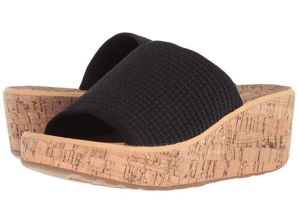 Rockport Lanea Woven Slide (Black Woven) Slides