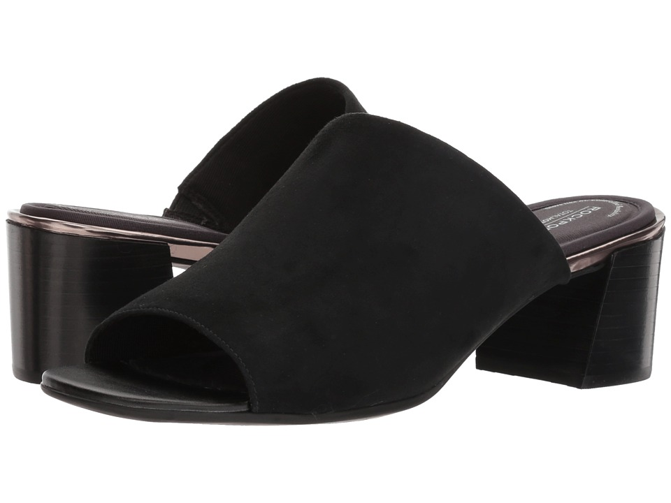 Rockport - Total Motion Alaina Mule (Black) Womens Shoes