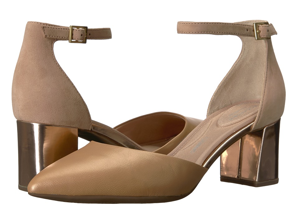 Rockport Total Motion Salima Two-Piece (Blush) Women's Shoes