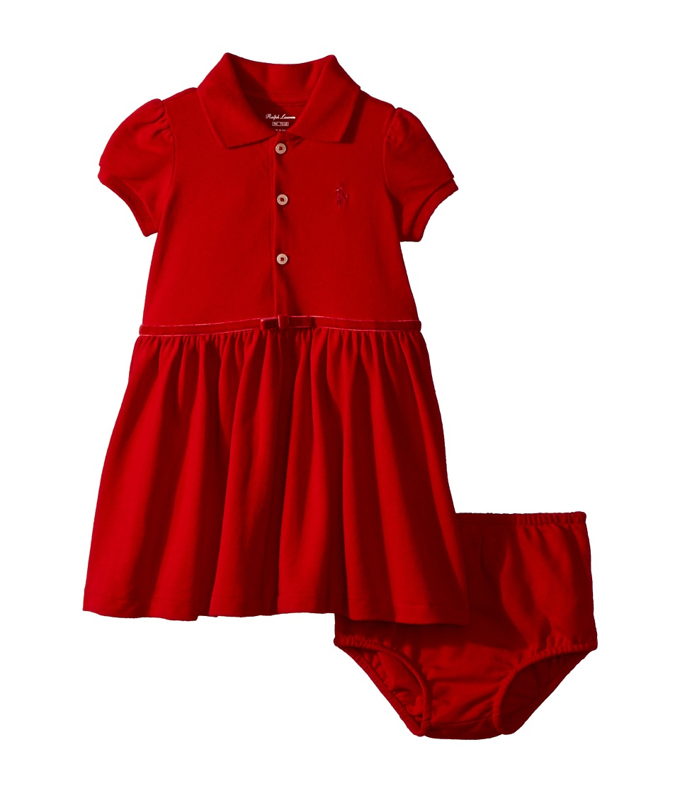 Ralph Lauren Baby - Cotton Polo Dress Bloomer