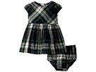 Ralph Lauren Baby Flannel Dress Bloomer (Infant)