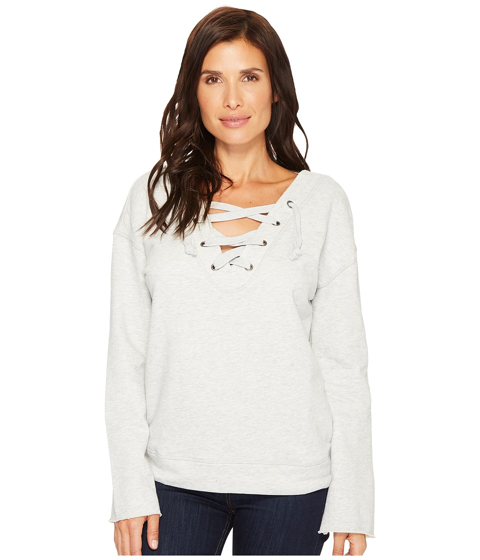 Sanctuary - Shipley Sweatshirt (Heather Sterling) Womens Sweatshirt