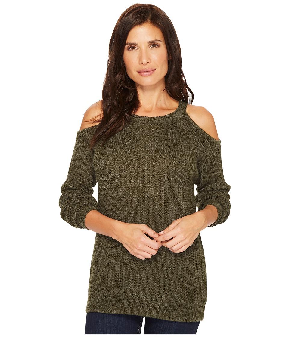 Sanctuary Riley Bare Shoulder Sweater (Dark Fatigue) Wome...