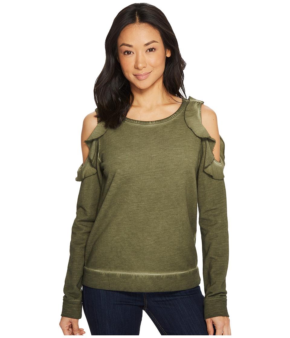Sanctuary Cordelia Sweatshirt (Fatigue) Women's Sweatshirt
