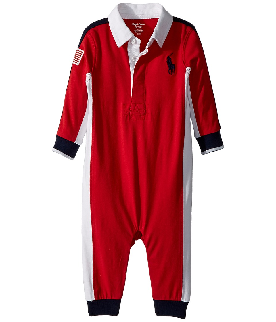 Ralph Lauren Baby - Cotton Jersey Rugby Coverall