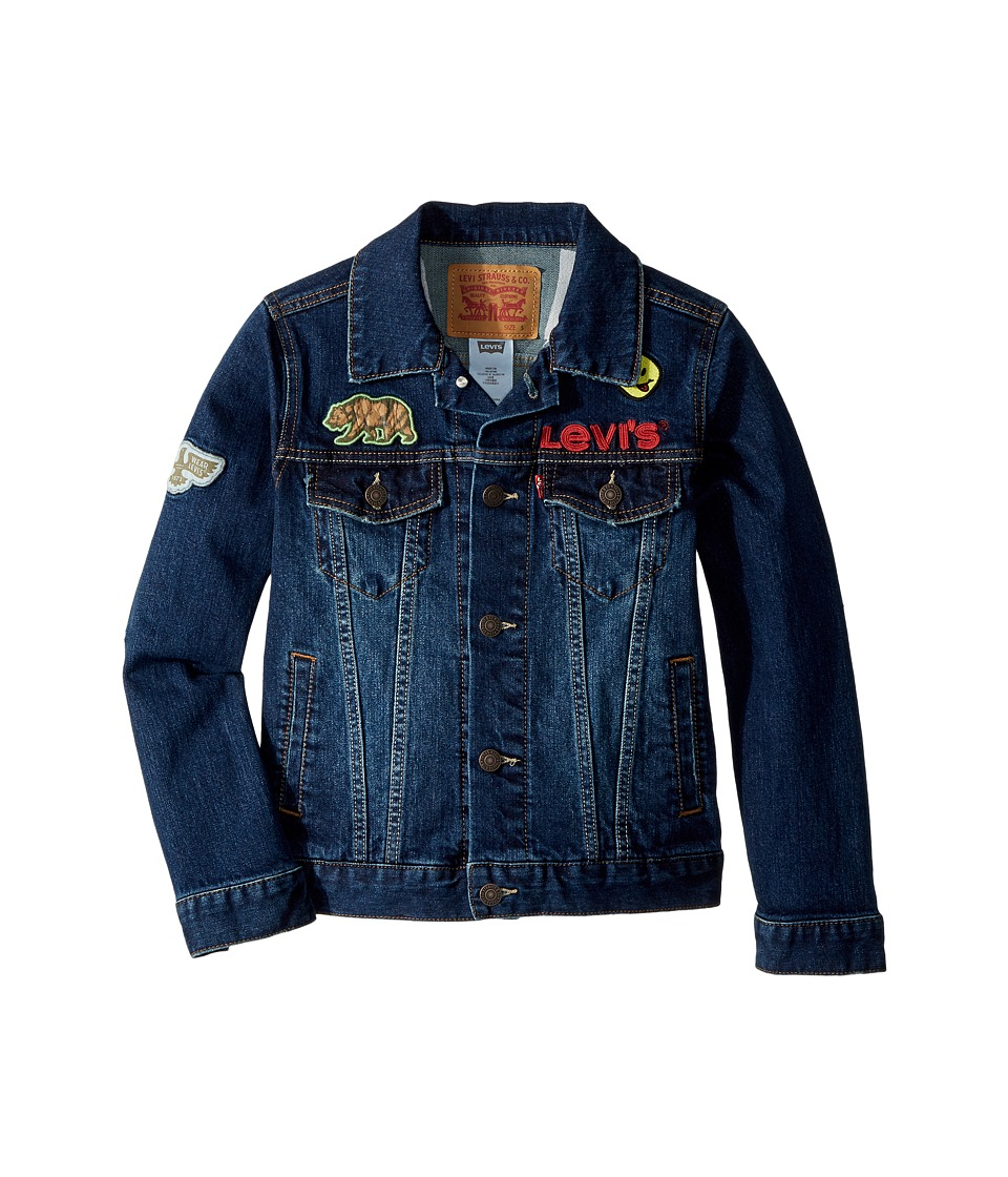 Levis(r) Kids - Trucker Jacket (Big Kids) (Stormy River) Boys Coat