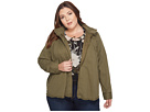 Lucky Brand Plus Size Military Jacket